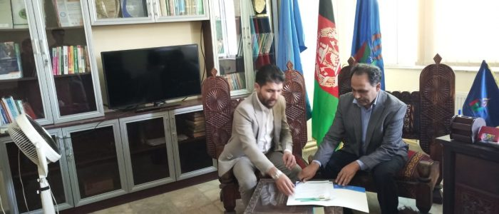 Dr. Atiq-ur-Rehman in Kabul Signing MoU with Mashal University Kabul Afghanistan